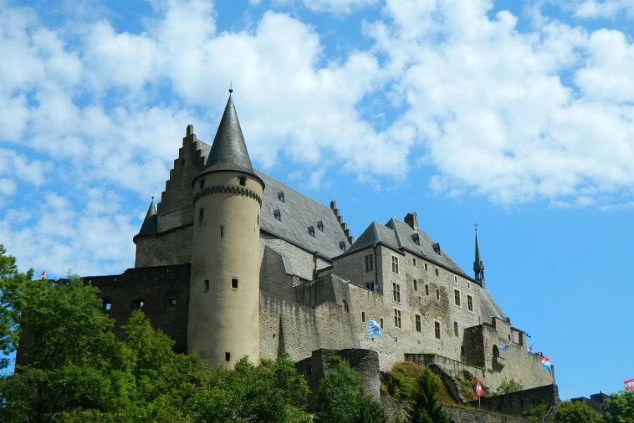Люксембург подорож